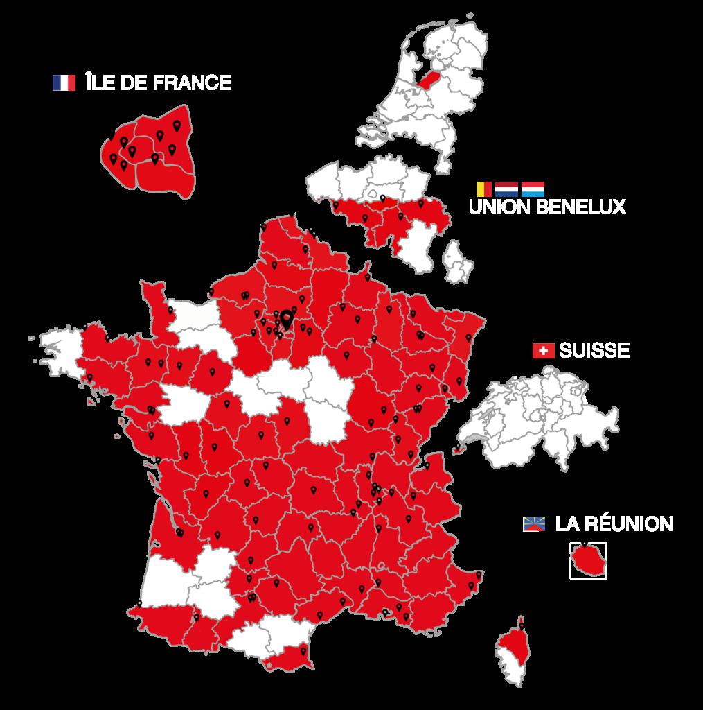 XEFI - Franchise network